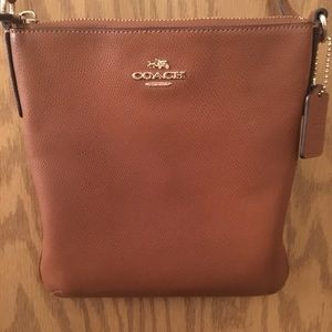 Brown Coach Over The Shoulder Purse
